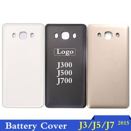 Housing Australia - For Samsung Galaxy J3 J5 J7 (2015) J300 J500 J700 Housing Back Cover Case Battery Rear Door