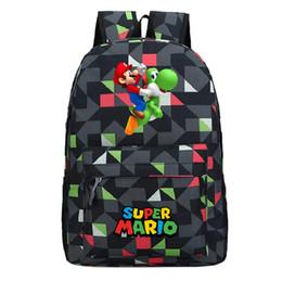 $enCountryForm.capitalKeyWord NZ - Classic Super Mario Backpack Children Boys Girls School Bags Fashion Popular Pattern Laptop Backpack Teens Schoolbag