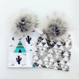 $enCountryForm.capitalKeyWord Australia - Fashion Newborn Baby Children Hat Cap For Girls Pompom Baby Born Care Infant Toddler Hats Bonnet Skullies Beanies For Kids Boys