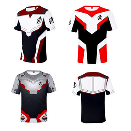 Short men underShirt online shopping - Avengers Endgame the Advanced Tech D Print Unisex T Shirt Men T shirt Cosplay Costume Undershirt Women Tees Top Plus Size A4907