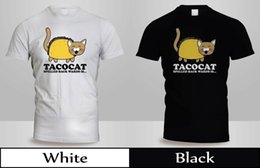 $enCountryForm.capitalKeyWord Australia - TACO CAT Backwards Kitty Mexican Food Animal T-Shirt Mens Blak&White SHirt 2free shipping Unisex Casual Tshirt