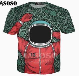 $enCountryForm.capitalKeyWord Australia - Fashion Men Women 3D Print Astronaut New Space Jumpsuit Casual T-Shirt Short Sleeve TF26