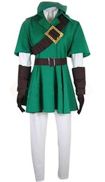 $enCountryForm.capitalKeyWord Australia - The Legend of Zelda Link Green Uniform Full Suit Cosplay Costume