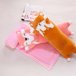$enCountryForm.capitalKeyWord Australia - Cartoon Pillow Blanket Cute Plush Toy Pillow Cute Multi-purpose Animal Air Conditioning Blanket
