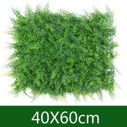 fake grass mats Australia - 40x60cm Artificial Assorted Grass Carpet Simulation Grass Mat Lawn Home Garden Decoration plantas artificiais Green fake plants