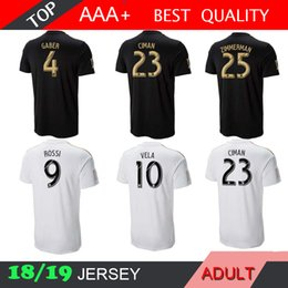 18 19 LAFC Special version Soccer Jerseys Los Angeles FC 2018 2019 Home  Carlos Vela GABER ROSSI CIMAN ZIMMERMAN Away Football Shirts a0a4f6538