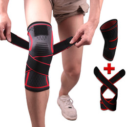 $enCountryForm.capitalKeyWord NZ - Knee Support Protection Pad Professional Sports Elastic Safety Gear Breathable Sleeve Compression High End Knee Fitness Workout Running M4Y