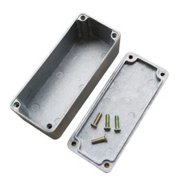 Aluminum Pedals Australia - Good Quality Drop Shipping Stomp Box Effects 1590B Style Aluminum Pedal Enclosure Box FOR Guitar Boxes Container Music Equipment