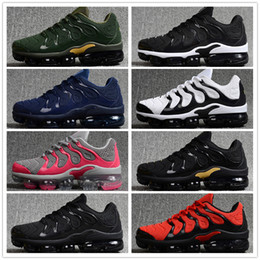 2018 Air TN PLUS Men High Quality Running Shoes Tns Nanotechnology KPU Material Classical Durable Mens White Sports Sneakers Size 36-46 from cheap stefan janoski suppliers