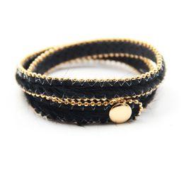 $enCountryForm.capitalKeyWord NZ - Adjust Bracelet 2019 Spring New Button Adjust Bracelet Multicolor Leopard Print Fine Gifts For Women