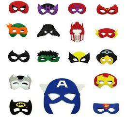 $enCountryForm.capitalKeyWord Australia - kids Avengers Masks Iron Man batman superhero captain america cosplay prop hallowen christmas decoration children mask party costumes mask