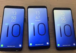 Android Tv Box Otg Australia - Goophone S10 PLUS Note 9 Fingerprint quad core 1GBRAM 16GBROM Full Screen 6.5inch Cellphone 4G LTE android Unlocked Phone Sealed box