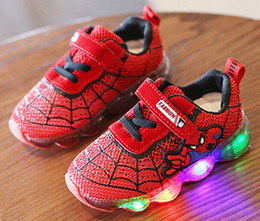 Wholesale Kids s Classic Walking Shoes For Boys And Girls Athletic Shoes Spiderman Sneakers Child Sports Children Chaussures Outdoor Footwear