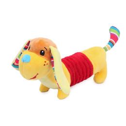 $enCountryForm.capitalKeyWord UK - 20CM Sound Dog Plush Doll Toys Infants Animal Stuffed Doggies Children Kids Cute Soft Colorful Puppy Attention Training Toy Gift