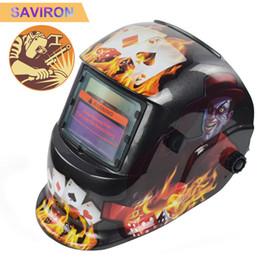 Weld Mask Darkening Australia - Solar Power Auto Darkening Welding Helmet Professional Weld Mask with Larger Viewing Area, Wide Shade Range 4 5-9 9-13