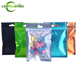 $enCountryForm.capitalKeyWord NZ - Leotrusting 300pcs lot Clear Front Aluminum Foil Ziplock Bag Heat Sealing Hanging Pouch Small Powder Sugar Pills Packaging Bag