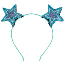 China Baby Party Props Colorful Star Ears Girl Headwear Lady Stylish Headband Hair Hoop Accessories For Women Hair band Kids Head Band supplier baby hair stylish suppliers