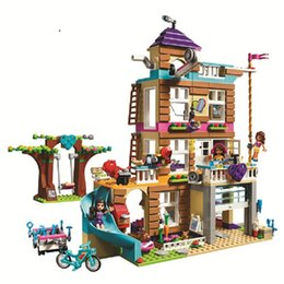 brick block house Australia - Compatible Legoinglys Friends 730Pcs toys for children Girls Series Friendship House Set Building Blocks Bricks Kids Gifts