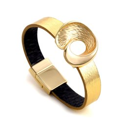 Gold Silver Bracelets For Womens Australia - New Fashion Top Quality Gold Real Leather Bracelet Womens Designer Knotted Cuff Bracelets Valentine Day Gifts Mother Gifts for Ldies Jewelry