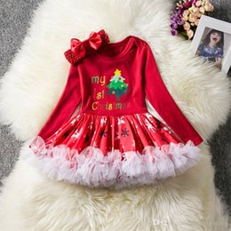 $enCountryForm.capitalKeyWord Australia - Baby Girl Dress 1st Christmas Party Dresses for Girls 1 Year New Year Clothing Infant Toddler Baby Birthday Tutu Red Holiday Baptism Costume
