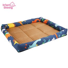 $enCountryForm.capitalKeyWord Australia - Infant Shining Dog Bed Mat Kennel Dog House Mat Summer Cold Mats Cooling Cat Mattress Sleeping Anti-bite Summer Pet Ded