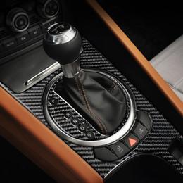 $enCountryForm.capitalKeyWord NZ - For Audi TT Car Stickers8n8J MK123 TTRS Carbon Fiber Center Console Air Gear Panel Outlet Steering Wheel car Interior LHD RHD accessorie