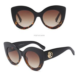 female mirror Canada - New Arrival 2020 Fashion Sunglasses Women Vintage Plastic Cat Eye Glasses Mirror Classic Vintage Oculos De Sol Feminino UV400 Female Eyewear