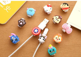 broken mobile phones 2019 - New Mobile phone data cable protector Creative headset charging cable anti-break protector Winder