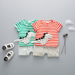 Quality Boutique Clothing NZ - kids summer clothes children boutique clothing newborn baby boys wear toddler children clothes 2 pieces high quality kids infant clothing