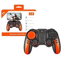 red wireless tablet Australia - Gen Game S8 gamepad 2 in 1 with Holder Smart Wireless Controler Bluetooth X3 gamepad Upgraded Remote Control for PC Phone Tablet