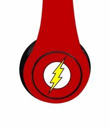 headphone pads 2019 - DC Comics Wireless Headphones Decible Headphone with Bulit in Mic Collapsible Design Adjustable Headband Soft Padded che
