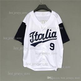$enCountryForm.capitalKeyWord Australia - Baseball Suit Short Sleeve Men's Card Loose Size Hip-Hop jerseys 18 19 Superior quality sportswear 24