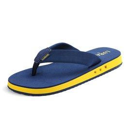 $enCountryForm.capitalKeyWord Australia - Summer Beach slippery Casual Leisure Cool Fashion Flip Flops for Men Outdoor Comfortable to Wear Slippers
