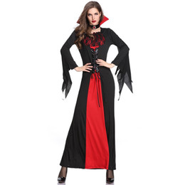Costumes For Masquerade UK - Sexy Women Halloween Vampire Costumes For Female Queen Cosplays Carnival Purim parade Masquerade Nightclub Role play party dress