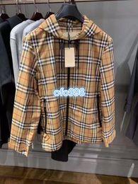 $enCountryForm.capitalKeyWord Australia - High end women girls baseball jackets Hoodies Women Jackets Coat Jacket For Plaid printing Long Sleeve Hooded Zipper Women's S-XXL
