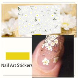 flower stickers wholesale Australia - Nail Beauty Nail Art Sticker Flower Cartoon Water Transfers Decals Fancy fruits cute Pattern Design Watermark Slider Decoration