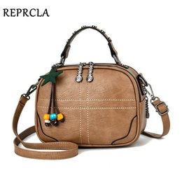 blue ladies handbags Australia - REPRCLA Ladies Handbags Women Shoulder Bag Fashion Tassel Crossbody Bags PU Leather Women Messenger Bags