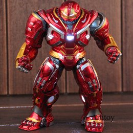 $enCountryForm.capitalKeyWord UK - Hulk Buster Mark 44 Ironman Hulkbuster Avengers Infinity War Marvel Action Figure PVC Collectible Model Toy with Light SH190915