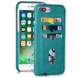 $enCountryForm.capitalKeyWord Australia - Non-slipCell Phone Cases for iPhone 7 8 PLUS mobile phone bag sleeve creative insert card covers the cover Card Pocket