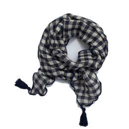 $enCountryForm.capitalKeyWord UK - 2019 Autumn Winter New Fashion Plaid Children Scarves Boys Girls Tassel Scarf Cotton Girls Scarves Wraps Kids Neckerchief
