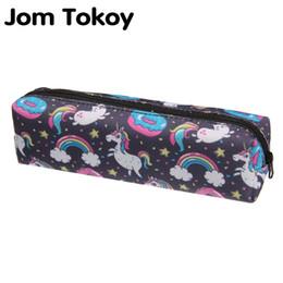 $enCountryForm.capitalKeyWord UK - Jom tokoy 3D Print Makeup Bag 2018 The New Women unicorn Cosmetic Bag Stationery Pouch Kids School Pencil #171647