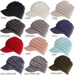 9b998559847 Men Ponytails Australia - 2018 New Pattern C.C Baseball Hat Ponytail Hats  Knit Hat Wool Snow