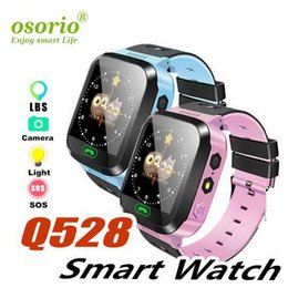 voice controlled cameras Australia - Q528 children's smart watch color screen touch screen photo learning watch SOS children's watch Voice Chat Smartwatch Sports