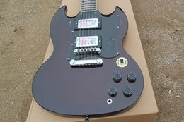 Electric Guitar Angus Young NZ - High quality Angus Young SG standard model dark wine Electric guitar
