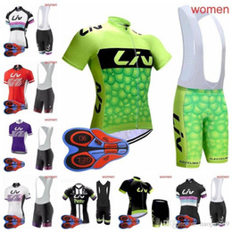 Pro Women Team 2018 liv Cycling Jerseys Sets Bicycle Clothes Breathable  Short Sleeves Shirt Bike Bib Shorts Cycling Clothing H1406F 727a0e5c3