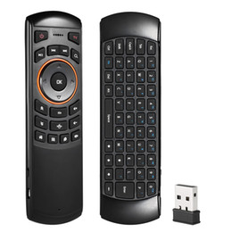 $enCountryForm.capitalKeyWord Australia - Mini 2.4ghz Wireless Qwerty Keyboard 433 Mhz Air Mouse Android Tv Handheld Remote Control 6 Gxes Gyroscope For Mini Pc Tv Box T190628