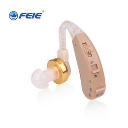 Fda hearing aids online shopping - Medical Headphone Power Ear Headset for Deaf Hearing Aid for Elderly Ear Care Tools Wireless Earphones S