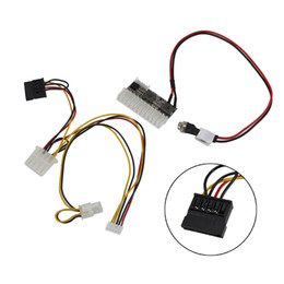 24pin power supply online shopping - DC ATX W V Pin ATX Switch PSU Car Auto Power Supply Module LHY Sale