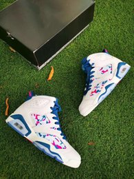 $enCountryForm.capitalKeyWord Australia - Big kid boy shoes Women Retro new girls 6 VI Tie-dyed Oil Painting Color Basketball Shoe Lady womens Trainers 6s Sports Jogging walking