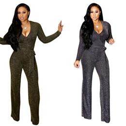 37196a3030 Bodycon Sexy Jumpsuit Women Knitting Long Sleeve Rompers Womens Jumpsuit  Female Overalls For Women 2019